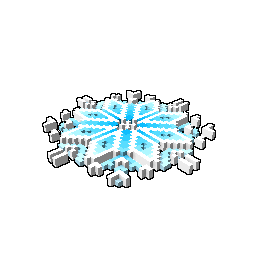 Floating Snowflake